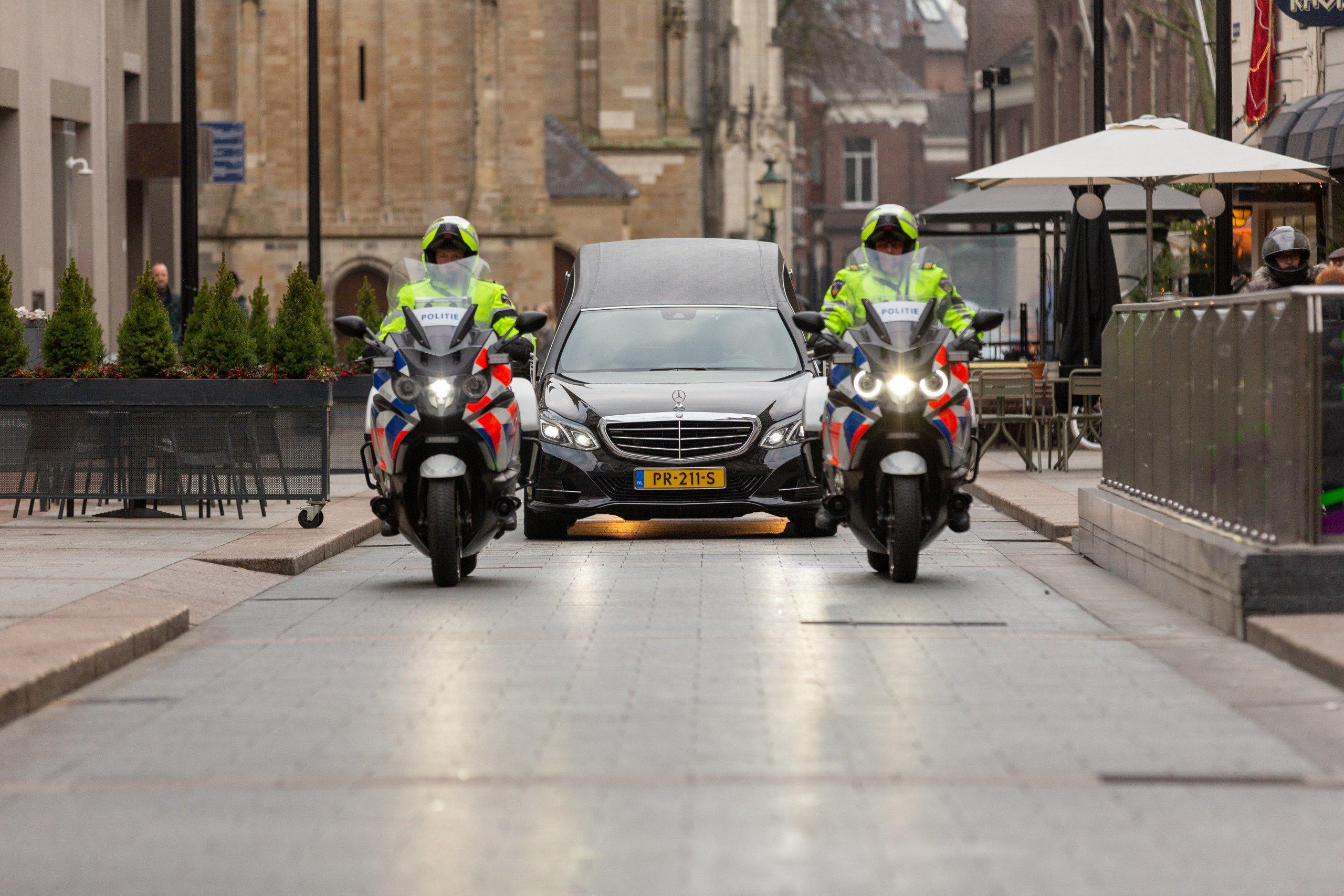 Uitvaart van een politieman